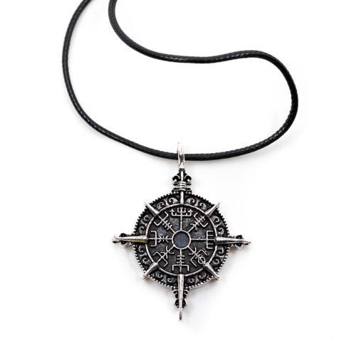 Amulet Viking Runenkompas