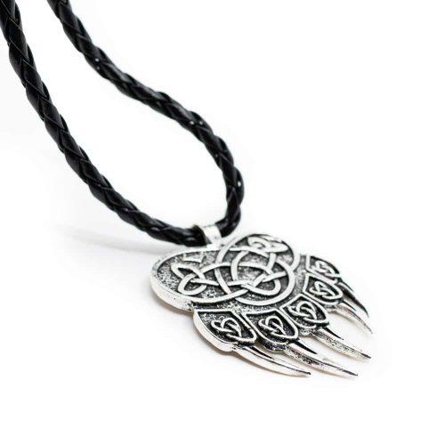 Amulet Berenklauw met Eindeloze Knoop