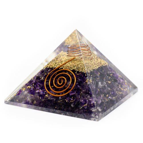 Orgonite Piramide Amethist (40 mm)