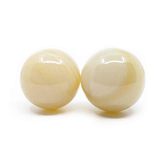Massage Ballen Jade Afghanistan - 50 mm