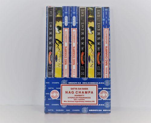 Satya Wierook Nag Champa Collectie (8 pakjes)