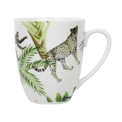 Beker Jungle Wit (400 ml)