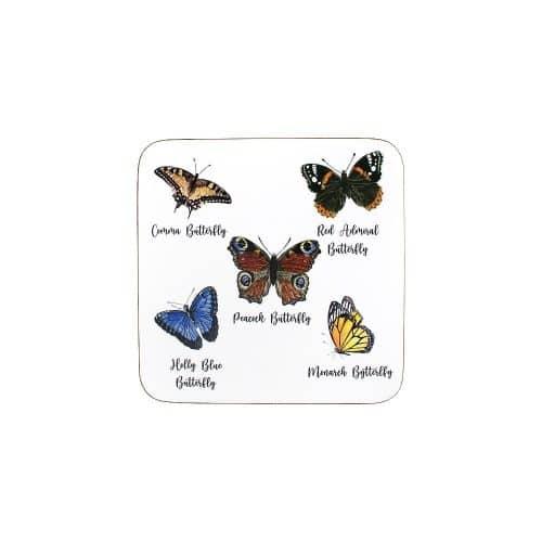 Onderzetters Vlinders (Set van 6)