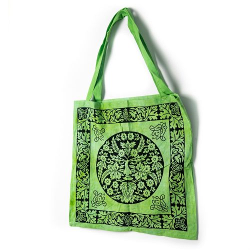 Tote Bag Katoen - De Groene Man Keltisch (45 cm)