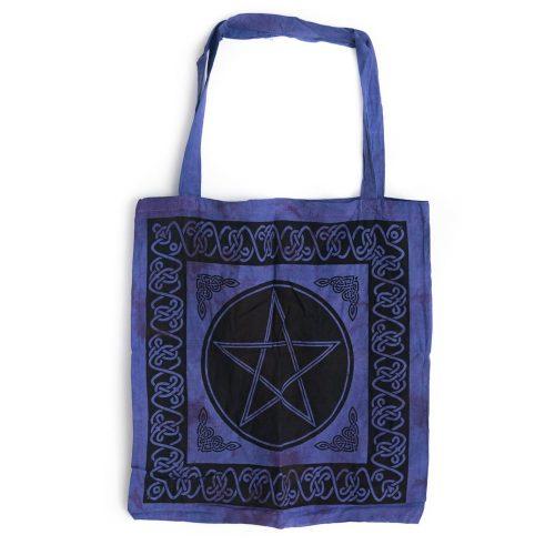 Tote Bag Katoen - Pentagram (45 cm)