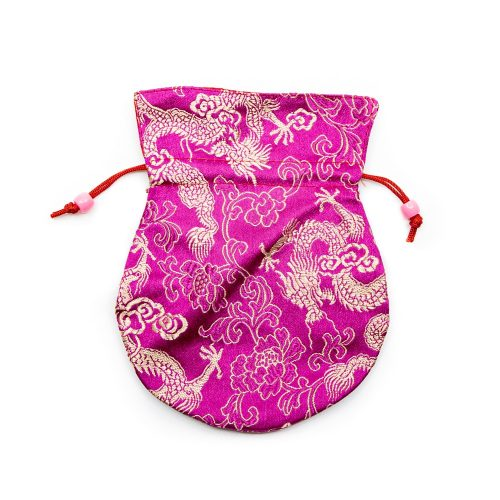 Brokaattasje Handgemaakt - Roze