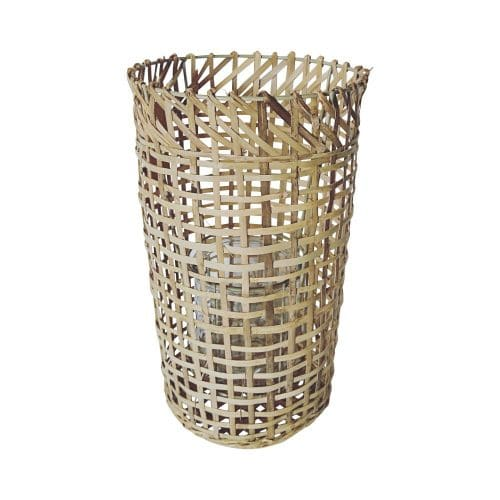 Bamboe Windlicht Vaas (38 cm)