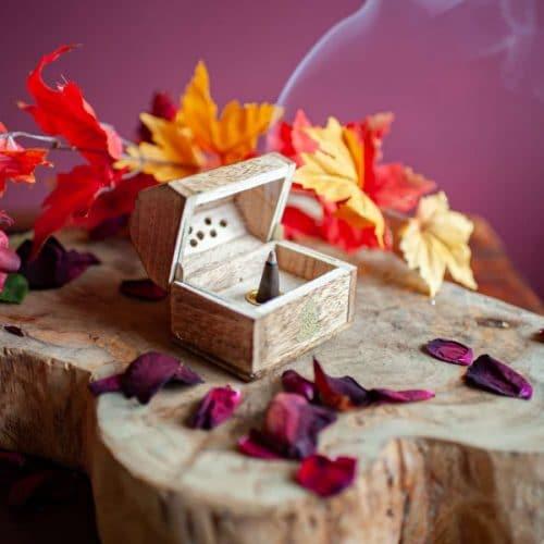 wierookkegel kistje rook spiru