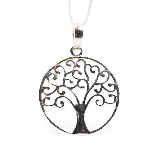 Hanger Tree of Life 925 Zilver (20 mm)