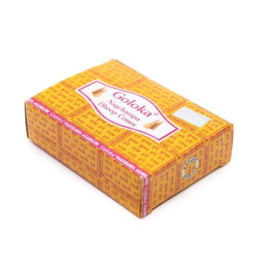 Goloka Wierook Kegeltjes Nag Champa (10 kegels)