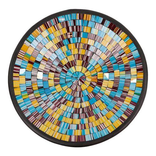 Kom Mozaïek Bruin-Multicolor (36 cm)