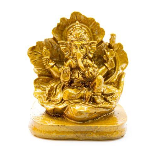 Ganesha Beeld Goudkleurig (7 cm)