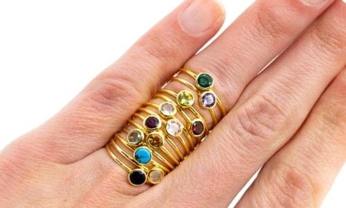Geboortesteen Ring