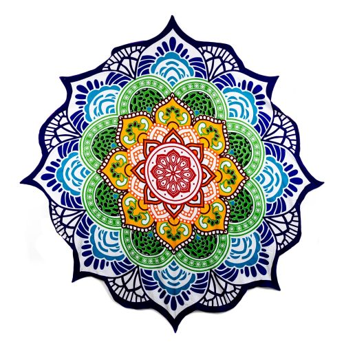 Strandlaken Zeven Chakra's Mandala (150 cm)