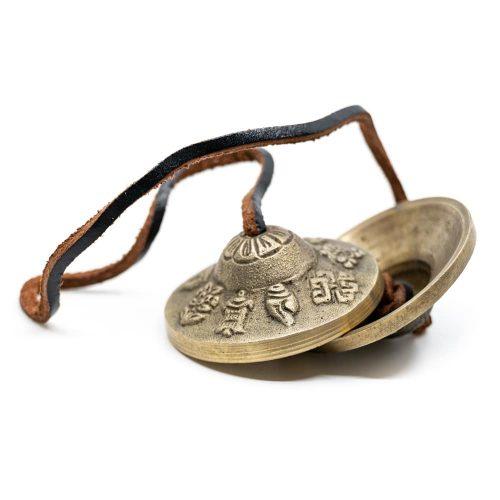 Tingsha's 8 Voorspoedsymbolen (60 mm)