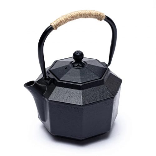 Japanse Stijl Zeskantige Tetsubin Gietijzeren Theepot (1 liter)