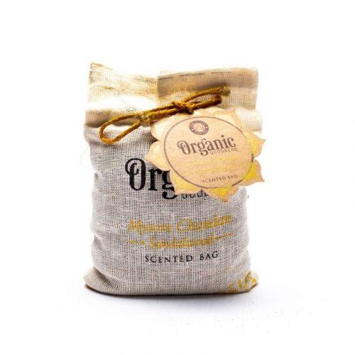 Organic Goodness Sandalwood Geurzakje (150 gram)