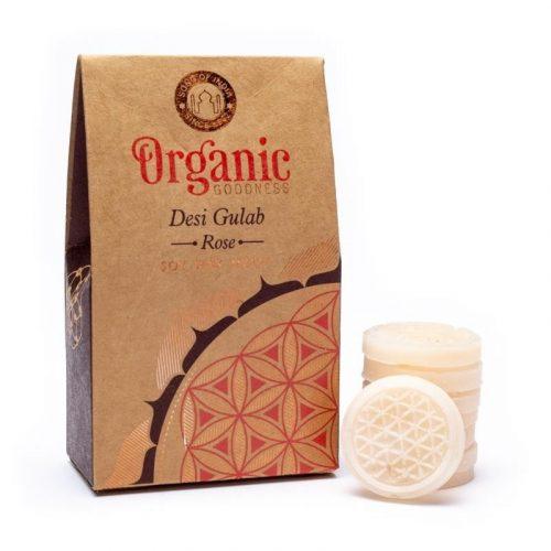 Organic Goodness Desi Gulab Roos Wax Melts / Smeltkaarsjes (40 gram)