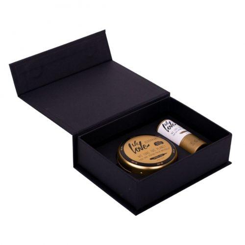 We Love The Planet Geschenkset met Deodorant Crème Golden Glow en Lippenbalsem