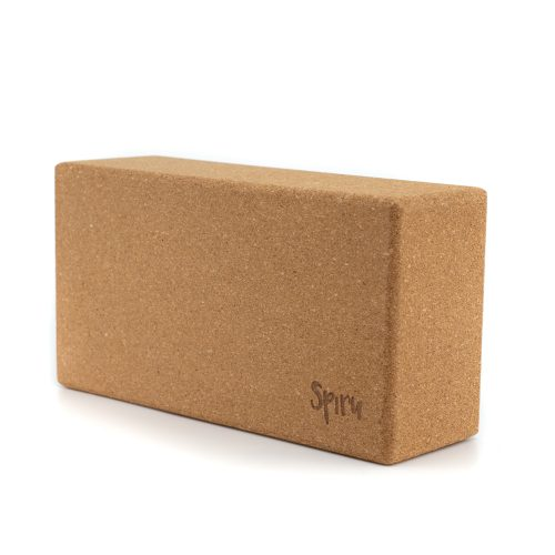 Spiru Yoga Blok Kurk Rechthoekig - 23 x 12 x 7.5 cm
