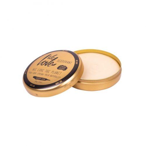 We Love The Planet Natuurlijke Vegan Deodorant Crème Golden Glow (48 gram)