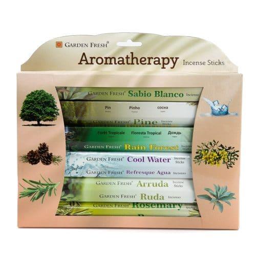 Garden Fresh - Aromatherapie Wierook Cadeauset (6 pakjes)