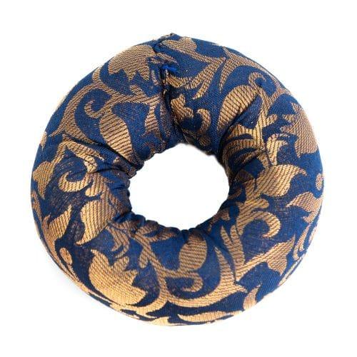 Klankschaalkussen Ringvormig Blauw (10 x 3 cm)