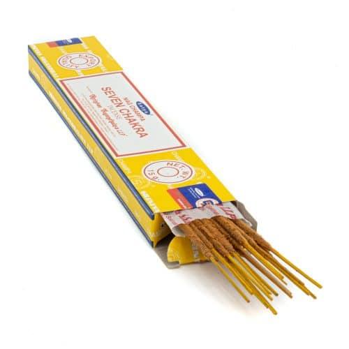 Satya - 7 Chakra's  - Wierookstokjes (1 pakje)