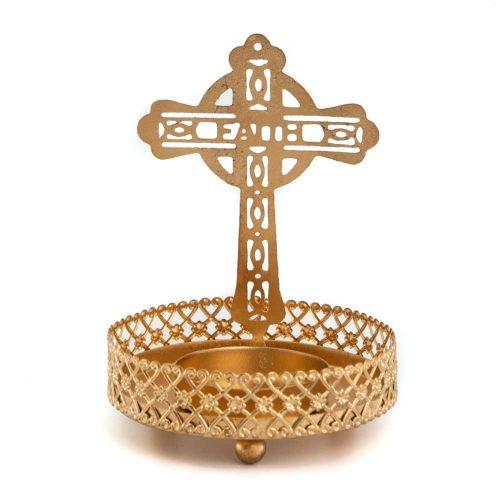 Sfeerlicht Theelichthouder Kruis (10 cm)
