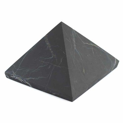 Edelsteen Piramide Shungiet Ongepolijst - 30 mm