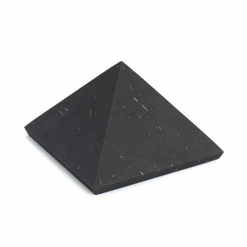 Edelsteen Piramide Shungiet Ongepolijst - 50 mm