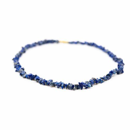 Edelsteen Splitketting Lapis Lazuli (45 cm)