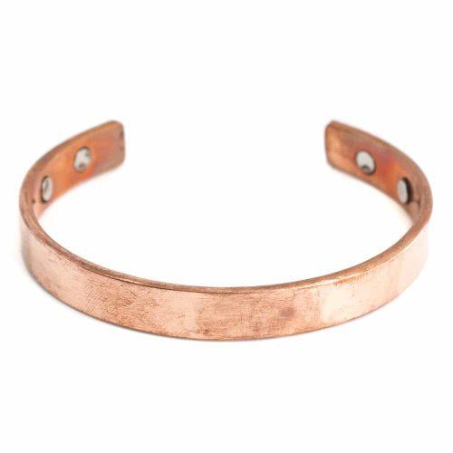 "Koperen Magneet Armband ""Clean"""