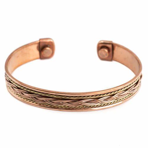 "Koperen Magneet Armband ""Knots Alternative"""