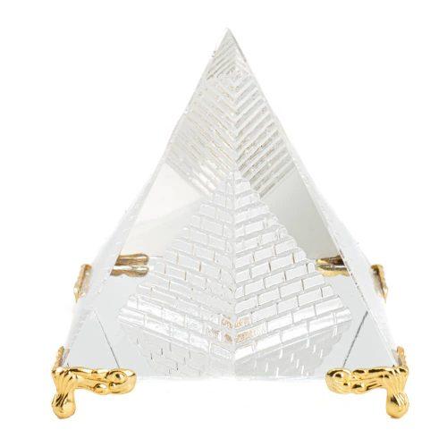 Kristallen Piramide Feng Shui met Pootjes (8 cm)