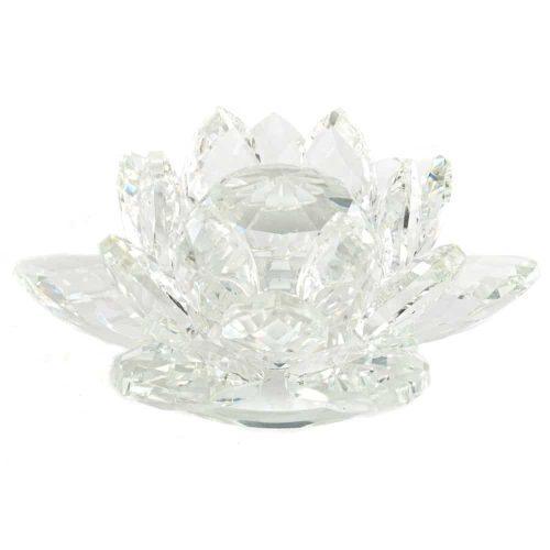 Regenboogkristal Feng Shui Lotus (11 cm)
