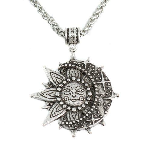 Talisman Solar & Celestial Ketting Zilverkleurig (35 mm)