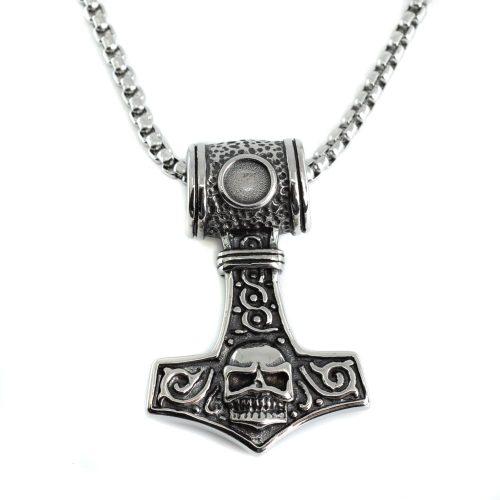 Viking Hanger Thor's Hamer met Schedel