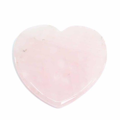 Guasha Schraper Rozenkwarts Hart (75 mm)