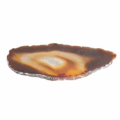Schijf Natuurlijke Agaat Middel (6 - 8 cm)